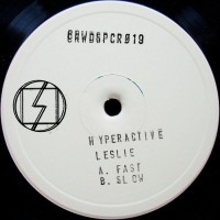 Hyperactive Leslie - Al.go.ritm - Crowdspacer - CRWDSPCR019