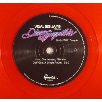 Vidal Benjamin – Disco Sympathie (Limited Edith Sampler) - Versatile Records – VER094