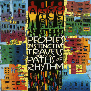 A Tribe Called Quest ‎– People's Instinctive Travels And The Paths Of Rhythm - Jive ‎– ZL 74548