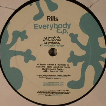 Rills ‎– Everybody E.p. - All Inn Records