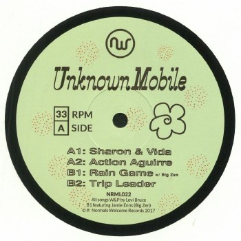 Unknown Mobile – Sharon & Vida - Normals Welcome Records