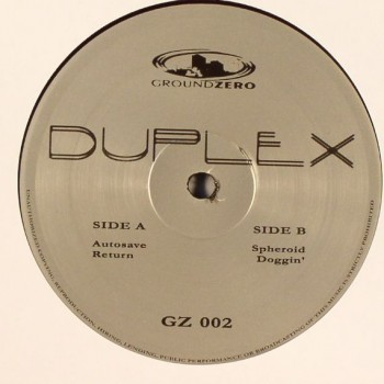 Duplex ‎– Autosave - Ground Zero ‎– GZ 002
