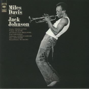Miles Davis ‎– A Tribute To Jack Johnson - Columbia ‎– KC 30455