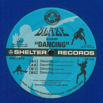 Blaze - Dancing -  Shelter Records