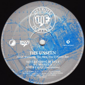 D.I.E feat. The Men You'll Never See - The Unseen - CWCSxMAP002
