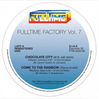 Various Artists - Full Time Factory Volume 7 - Fulltime Production