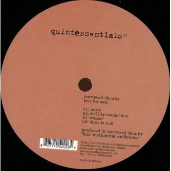 Borrowed Identity - Love For Sale - Quintessentials / Quintessentials 35
