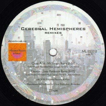 Mr. Fingers - Cerebral Hemispheres Remixes - Alleviated / ML2237-2