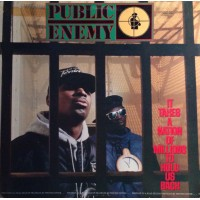 Public Enemy ‎– It Takes A Nation Of Millions To Hold Us Back - Def Jam Recordings / DEF 462415 1
