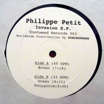 Philippe Petit - INVASION EP - Knotweed / KW0003