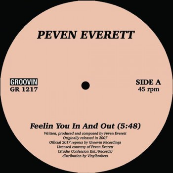 Peven Everett ‎– Feelin You In And Out - Groovin Recordings