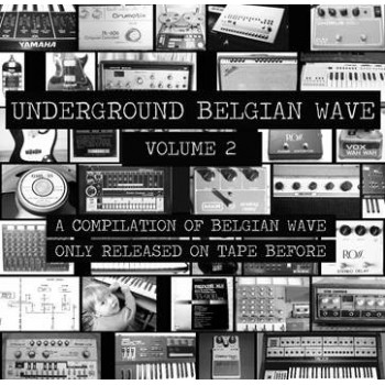 Various ‎– Underground Belgian Wave Volume 2 - Walhalla Records