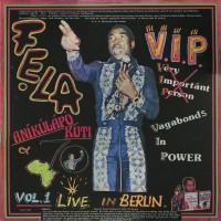 Fela Kuti & Afrika 70 - V.I.P. Vol. 1 Live in Berlin - Knitting Factory Records