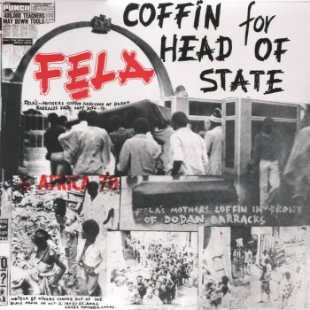 Fela & Africa 70 – Coffin For Head Of State - Knitting Factory Records