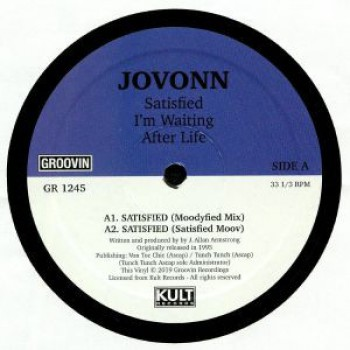 Jovonn – Satisfied - Groovin Recordings 