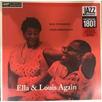 Ella Fitzgerald, Louis Armstrong ‎– Ella & Louis Again - Jazz Wax Records ‎– JWR 4598