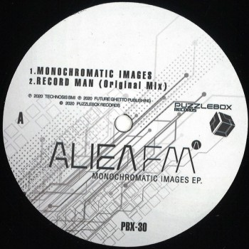 Alien FM - Monochromatic Images - Puzzlebox Records ‎