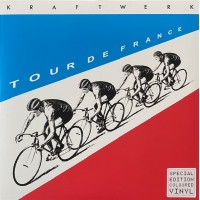 Kraftwerk - Tour De France Translucent Blue / Red Vinyl / 20 page booklet - Parlophone 