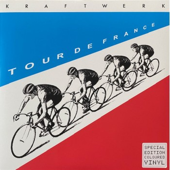 Kraftwerk - Tour De France Translucent Blue / Red Vinyl / 20 page booklet - Parlophone ‎