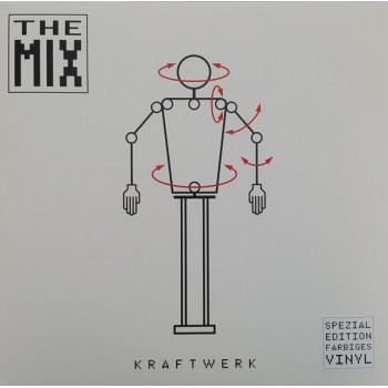 Kraftwerk - The Mix - White Vinyl / 20 Page Booklet - Parlophone