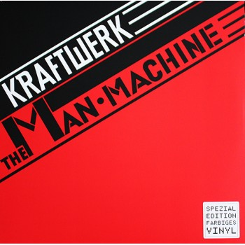 Kraftwerk - The Man Machine - Translucent Red Vinyl / 16 Page Booklet - Parlophone