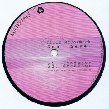 Chris McCormack – Sea Level - Materials