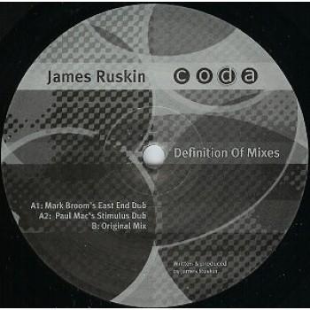 James Ruskin – Definition Of Mixes - Coda Records