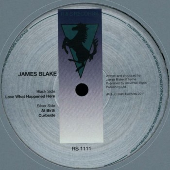 James Blake – Love What Happened Here - R & S Records – RS1111
