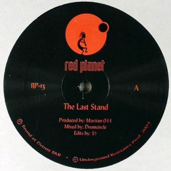 The Martian ‎– The Last Stand / Sunchaser - Red Planet