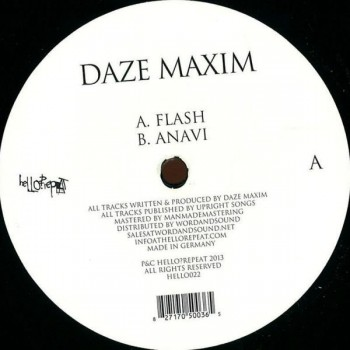 Daze Maxim - Flash. Anavi - Hello Repeat