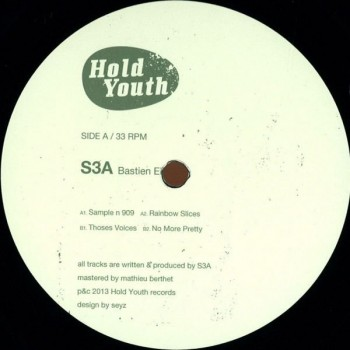 S3A ‎– Bastien EP (vinyl Only) - Hold Youth