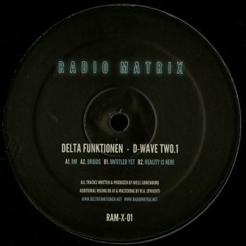 DELTA FUNKTIONEN - D-WAVE TWO.1 - RADIO MATRIX