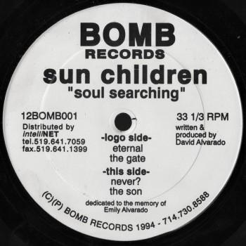 Sun Children – Soul Searching - Bomb Records