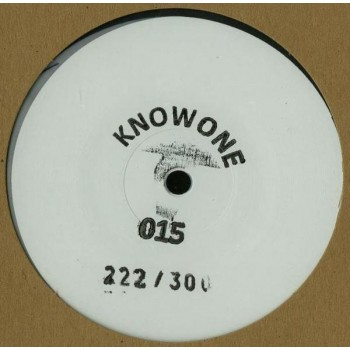 Unknown Artist ‎– Knowone 015 (white Marbled Vinyl) - KO015