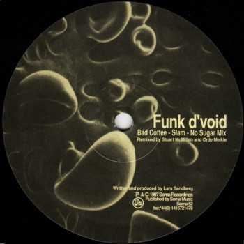 Funk D'Void – Bad Coffee - Soma Quality Recordings