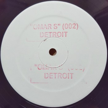 Omar S - 002 (Limited reissue)