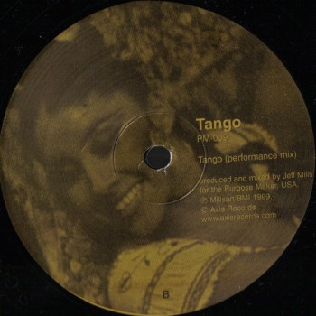 Jeff Mills – If / Tango - Purpose Maker