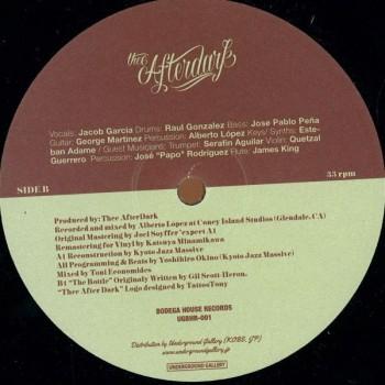 Thee afterdark - Thee Afterdark EP - Underground gallery recordings