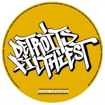 "Detroits Filthiest  - DJ Nasty's PRIME CUTS 12"" Vinyl - Casa Voyager"