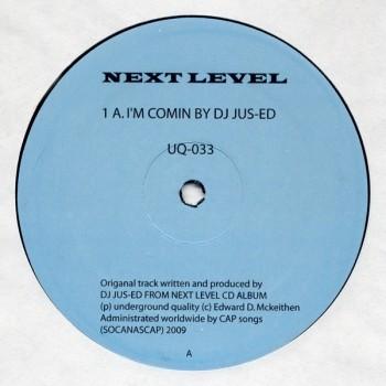 Dj Jus-Ed - Next Level (Levon Vincent, Aybee Rmx) - Underground Quality