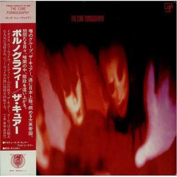 The Cure - Pornography - Fiction Records - VAP 35002-25 JAPANESE LTD EDTION