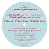 Daniel Wang - The Look Ma No Drum Machine EP - Balihu