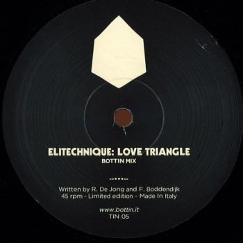 Elitechnique / Philippos - Love Triangle / Stealth (Bottin Remixes) - Tin
