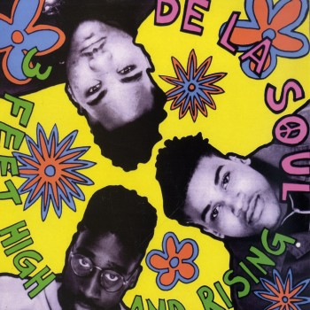 De La Soul ‎– 3 Feet High And Rising - Tommy Boy ‎– TB-5103-1 - Vinyl Me, Please 3FT001 LMT