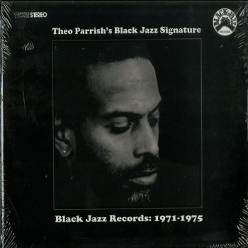 Theo Parrish - Black Jazz Signature LP - Snowdog