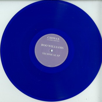 Boo Williams – Technical E.P. - Chiwax Classic Edition