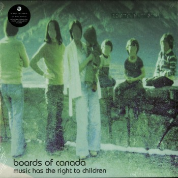 Boards Of Canada ‎– Music Has The Right To Children - WARP LP