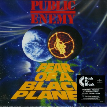 Public Enemy ‎– Fear Of A Black Planet - Def Jam Recordings / 466281 1