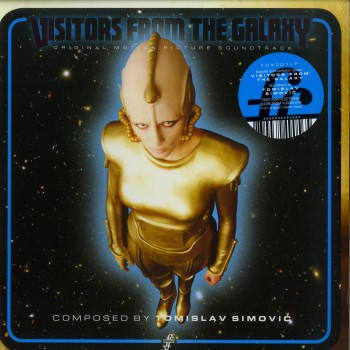 Tomislav Simović – Visitors From The Galaxy - Original Motion Picture Soundtrack -  Fox & His Friends