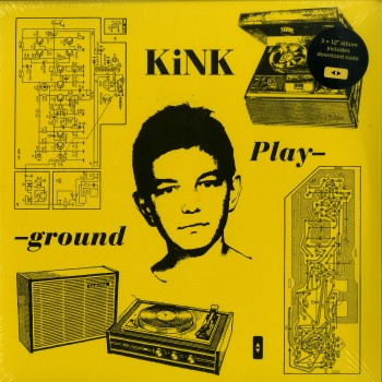Kink - Playground (3lp, Gatefold) - Running Back